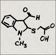 [(3-formyl-1-methyl-1H-indol-2-yl)thio]acetic acid