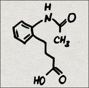 4-[2-(acetylamino)phenyl]butanoic acid