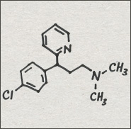 CYT387 (Ki = 10.8) Dexchlorpheniramine Antihistaminic