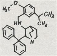 CYT342 (Ki = 0.50) Substance P antagonist Phizer